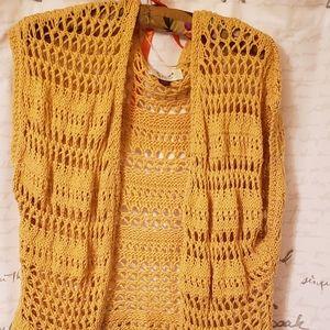 Women's crocheted sweater